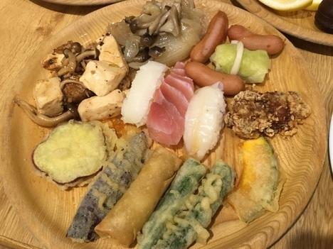 ファーマーズガーデン菖蒲食べ放題バイキング天ぷら寿司一品料理