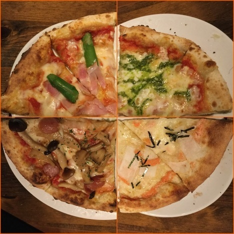 ナポリの食卓桐生店巡回ピザ複合写真
