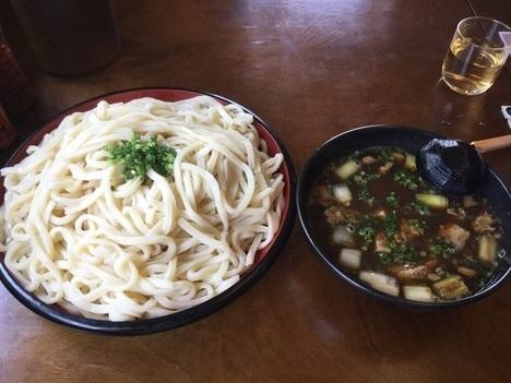 足利阿吽肉汁うどん2kg15分チャレンジ