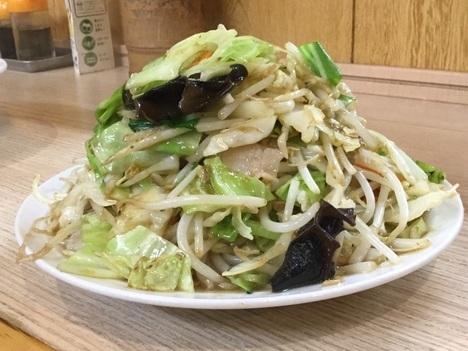 東松山西華ボリューミー野菜炒め