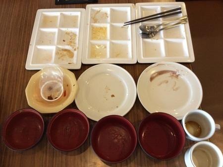 ココス朝食バイキング皿.jpg