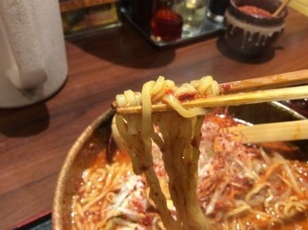 らーめん火山東風雷麺麺リフト