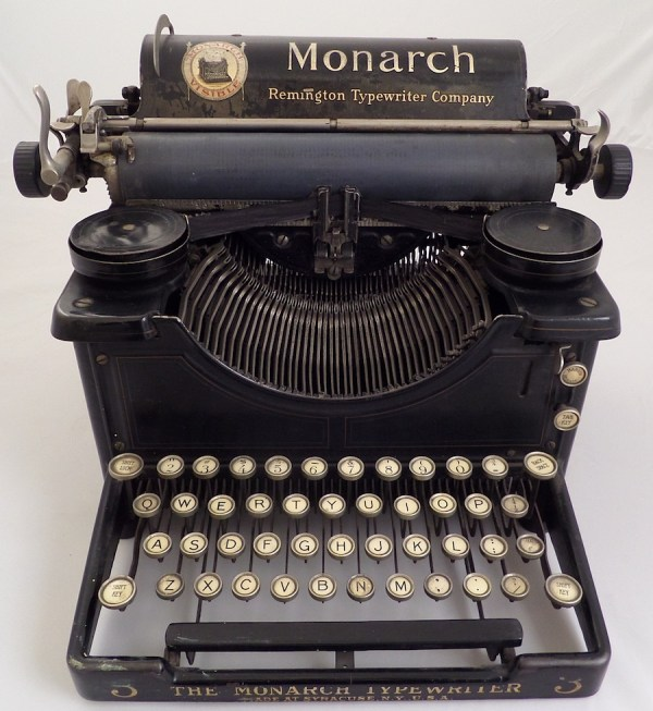 Monarch Visible . 1 & Typewriter 3