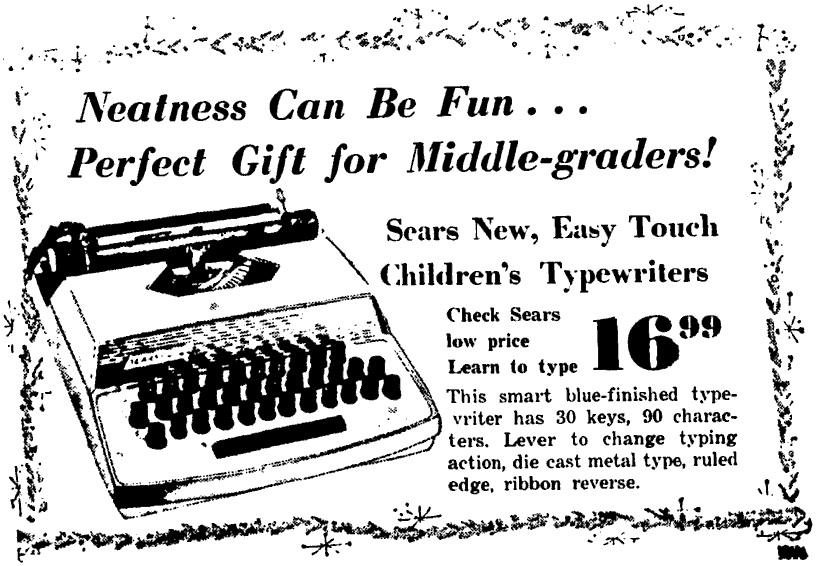 Sears Easy Touch Typewriter