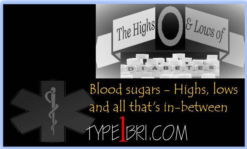 Blood sugar - Highs, lows and all that's in-between