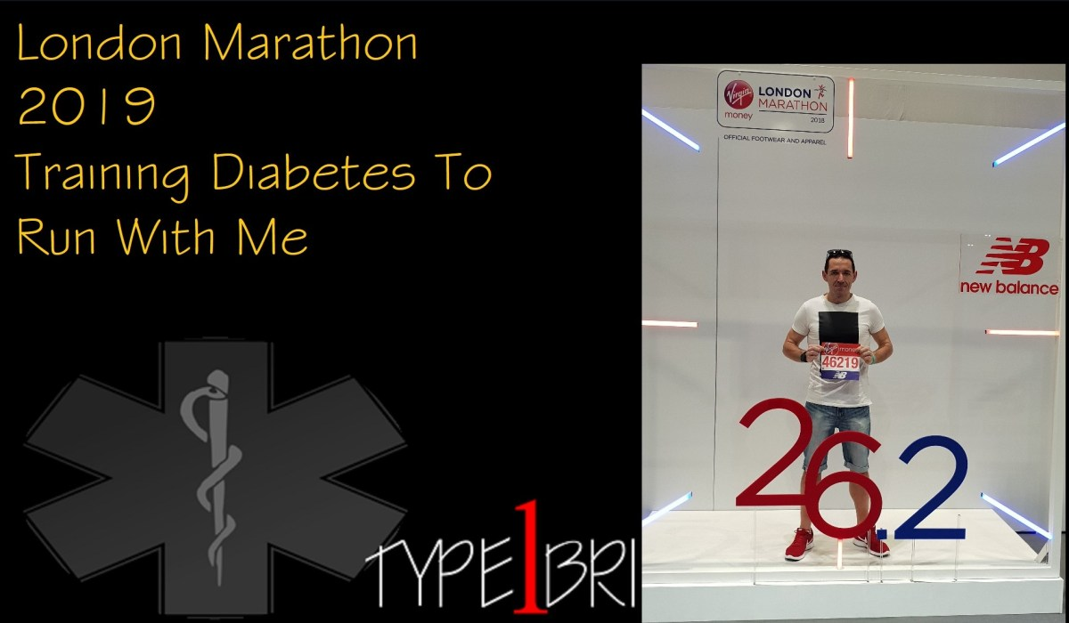 London Marathon Training 2019 - Making Diabetes Run With Me