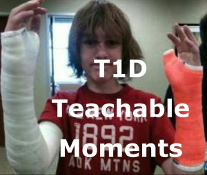 Type 1 Diabetes Teachable Moment