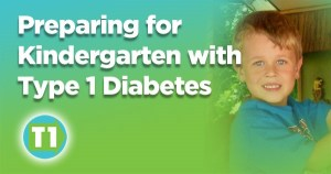 Preparing for Kindergarten with Type 1 Diabetes Banner