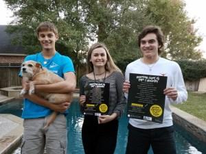 Teens support Texas T1D DKA Campaign