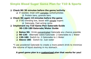 Brandon Green's Simple Sports Plan with Diabetes
