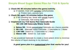 Brandon Green's Simple Sports Plan with Diabetes