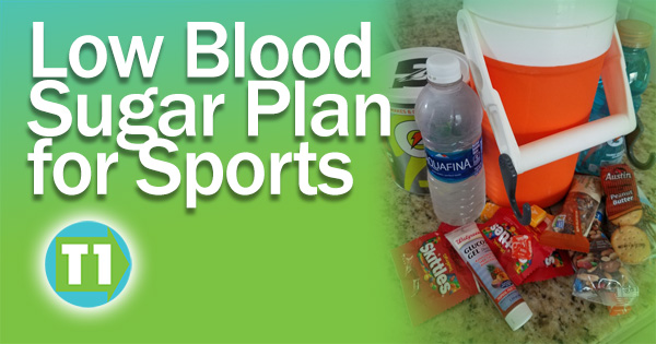 Brandon Green offers advice on having a low blood sugar plan