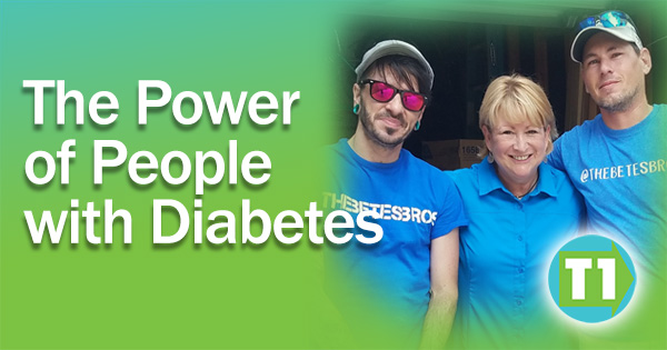 The Best Thing about Diabetes is the People