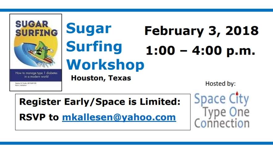 Sugar Surfing Workshop Houston 2018