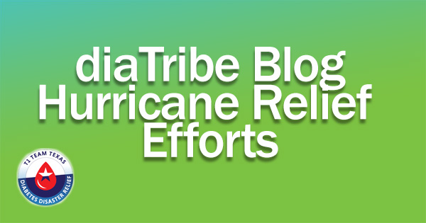 Hurricane Harvey T1 Team Texas Diabetes Disaster Relief Efforts