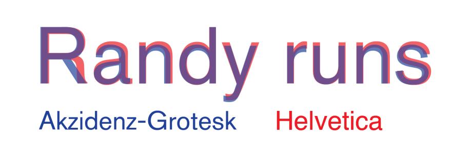 Helvetica vs Akzidenz-Grotesk