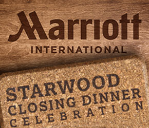 Marriott & Starwood Dinner