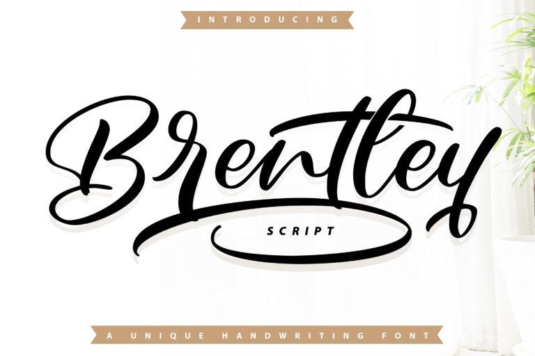 Brentley - Handwritting Font