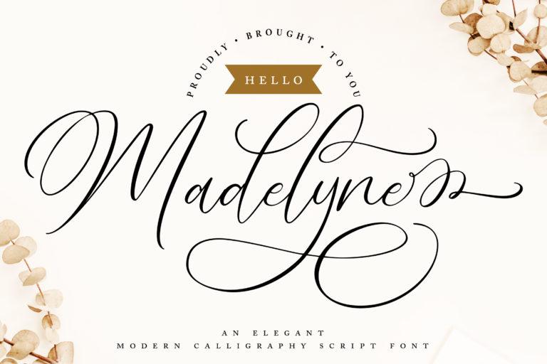 Hello Madelyne - Elegant Script Font