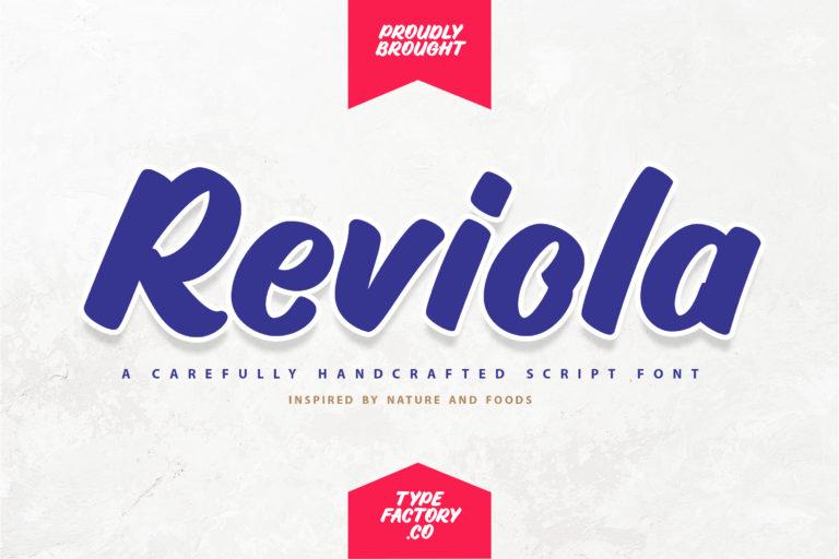 Reviola - Bold Script