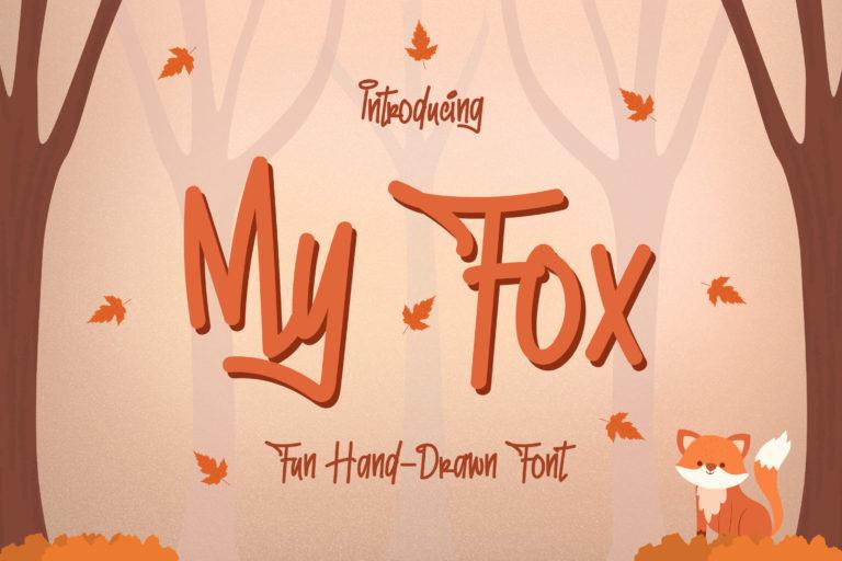 My Fox - Fun and Playful Font