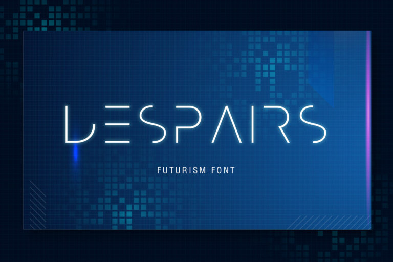 Preview image of Despairs – Futurism Font