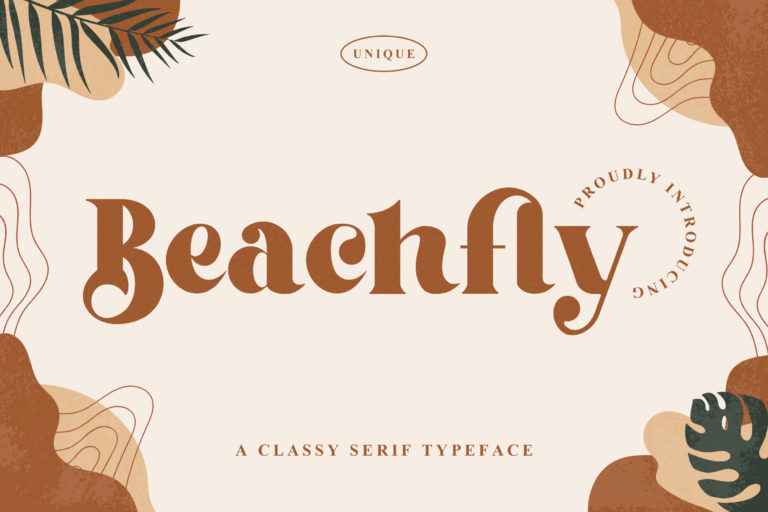 Beachfly - Classy Serif Typeface