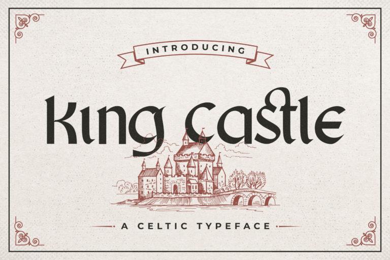 King Castle - Celtic Typeface