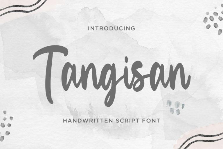 Tangisan - Handwritten Script