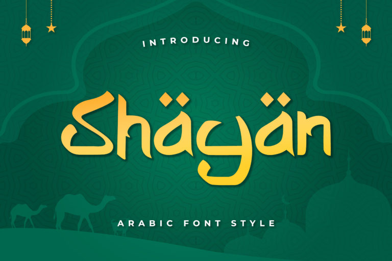 Shayan - Arabic Font