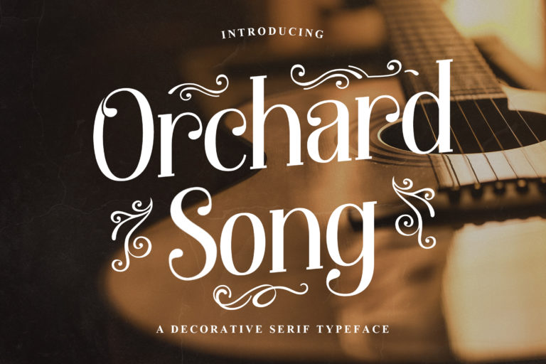 Orchard Song - Decorative Serif Font