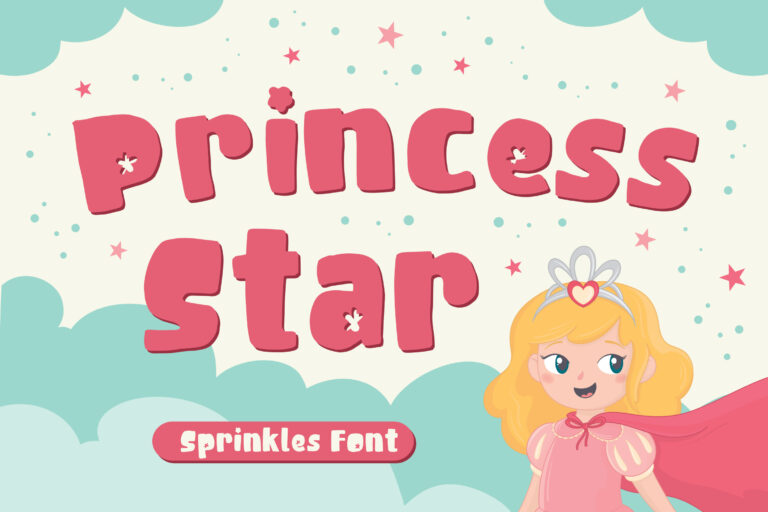Princess Star - Sprinkles Font