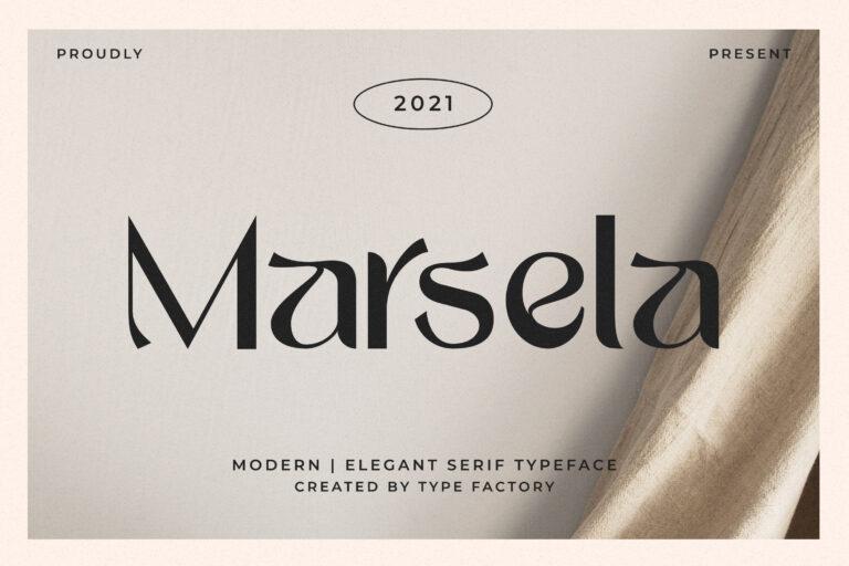 Marsela - Modern & Elegant Serif