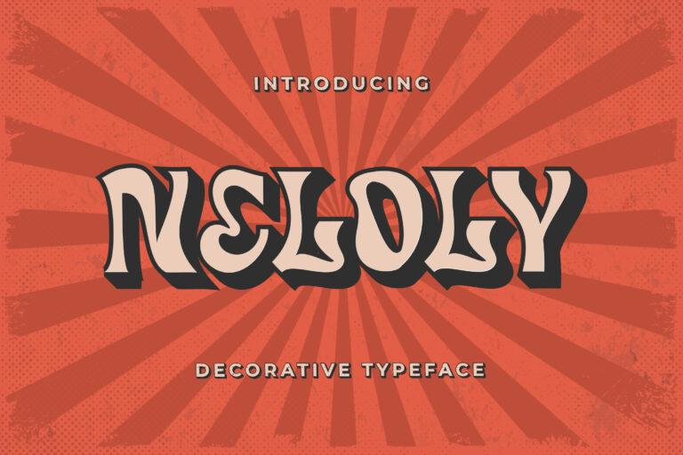 Neloly - Decorative Typeface
