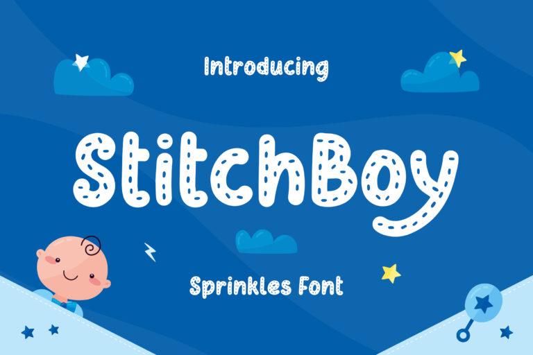 Stitch Boy - Sprinkles Font