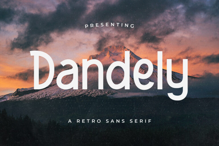 Dandely - Retro Sans Serif