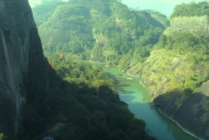Shadow and Light in China valley