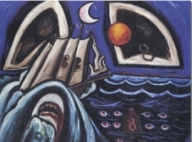 "Marsden Hartley, ""Eight Bells Folly"" (1933)"