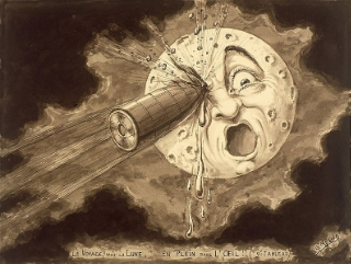Georges Melies' Moon