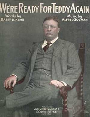 Poster from Theodore Roosevelt's presidential campaign, 1904.