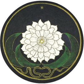 Golden flower mandala made by Jung's patient before 1929-round-271