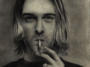 """ 'I want to be rich and famous and kill myself like Jimi Hendrix' ... These were the eerily prescient words of a 14-year-old Kurt Cobain."""