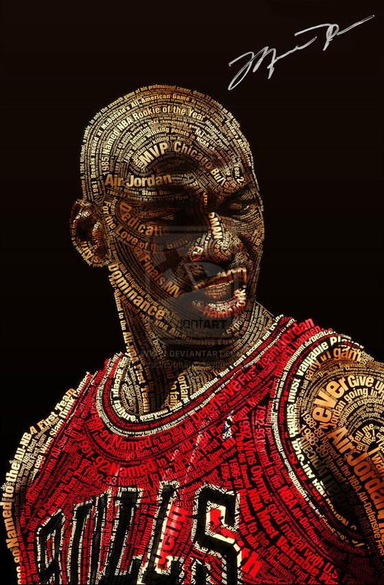 Jordan Logo 3d Wallpaper Michael Jordan By Phreshsoldier Typeinspire