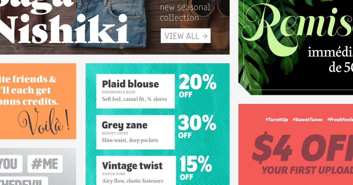 Download Browse fonts in the Market it! Fonts for social shares ...