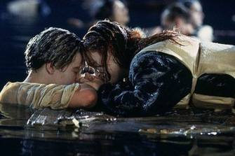 Image result for titanic the movie rose in the water