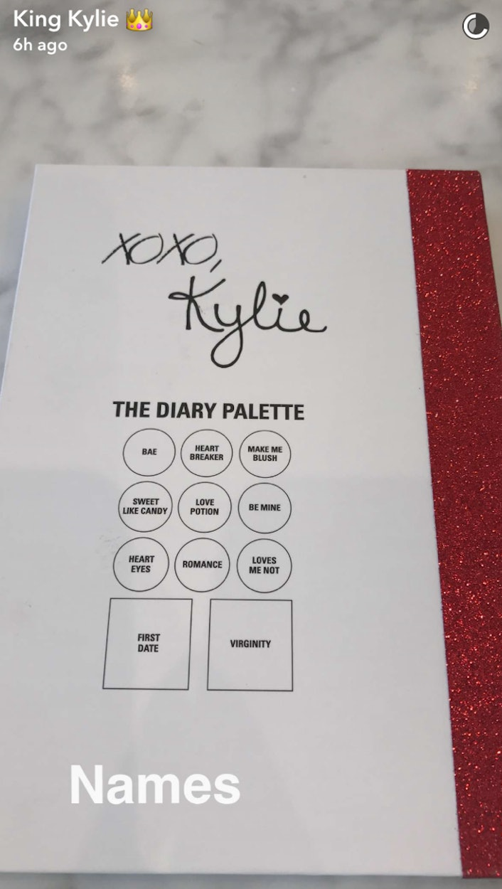 Whats Different About The Kylies Diary Palette The