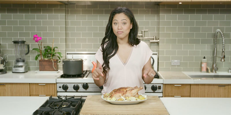 Watch Ayesha Curry Make The Most Delicious Chicken Ever