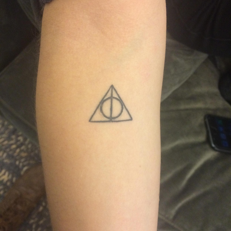 Minimalistic Harry Potter Tattoos Small