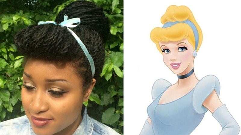 recreated disney princess hairstyles