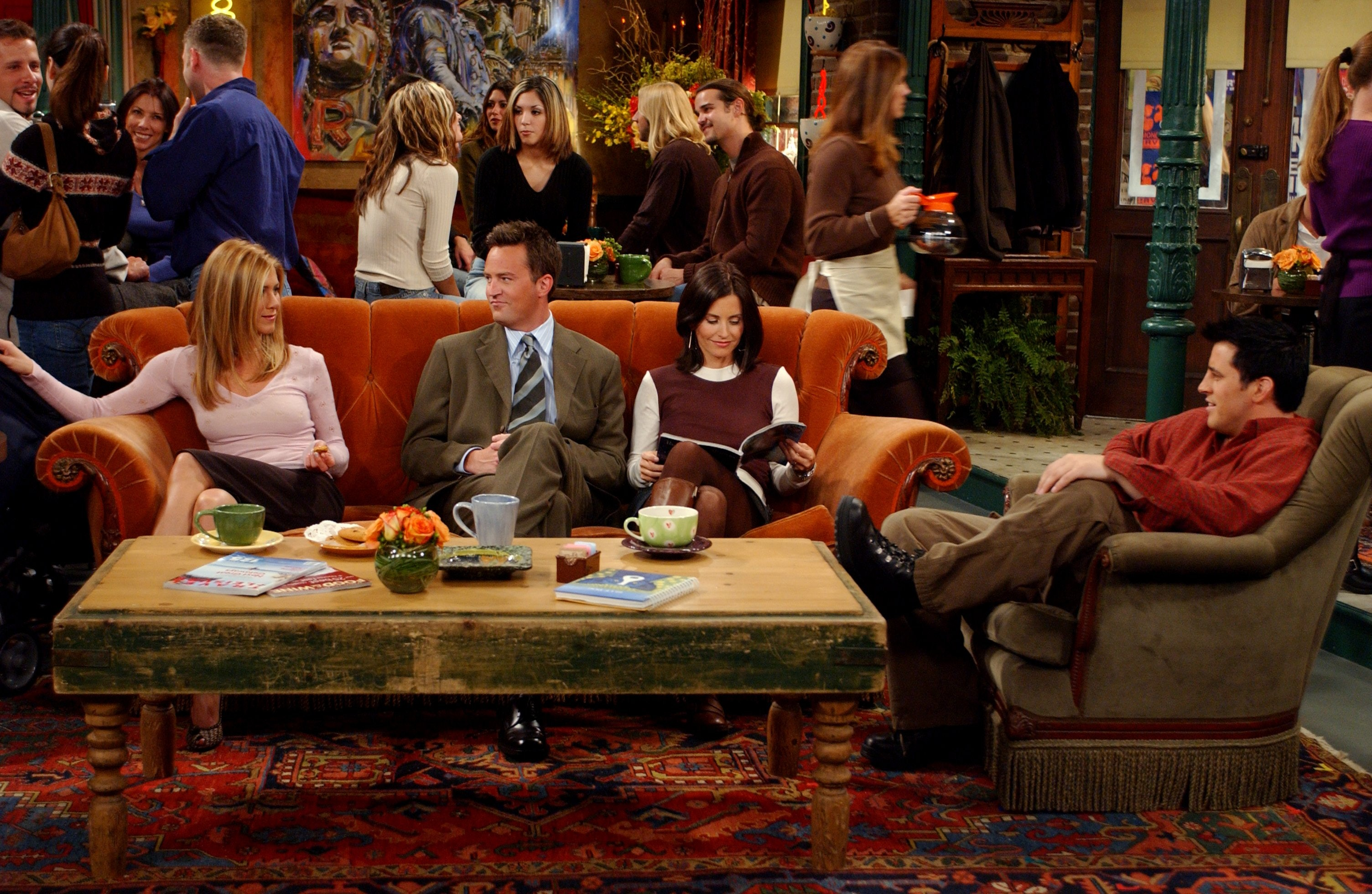 The Central Perk Couch On 'Friends' Was Always Unoccupied For A
